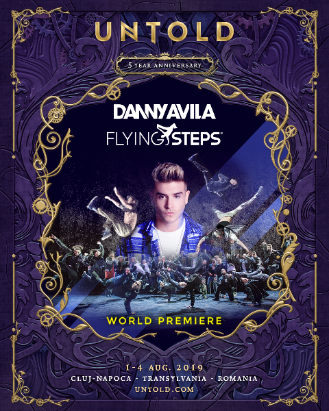Danny Avila x Flying Steps UNTOLD